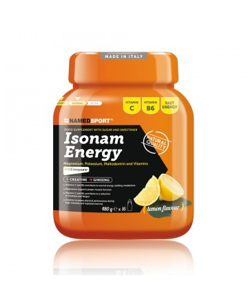 ISONAM ENERGY LIMÓN (480 GR.)