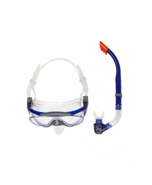 KIT BUCEO SPEEDO GLIDE MASK + SNORKEL SET